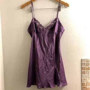 Victoria's Secret Purple Satin Nightie